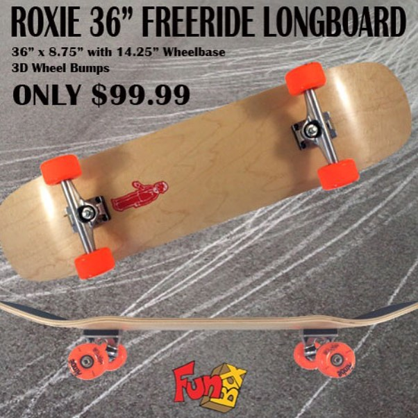#Roxie #USA made #maple #freeride #longboard is sure to please #longboarding #concretewave #complete #skateboard #skatelife #skateshops #love #american #thankyouskateboarding #slide #thanelines #atobe #wheels #getbuck #getsideways #support #smallbusiness