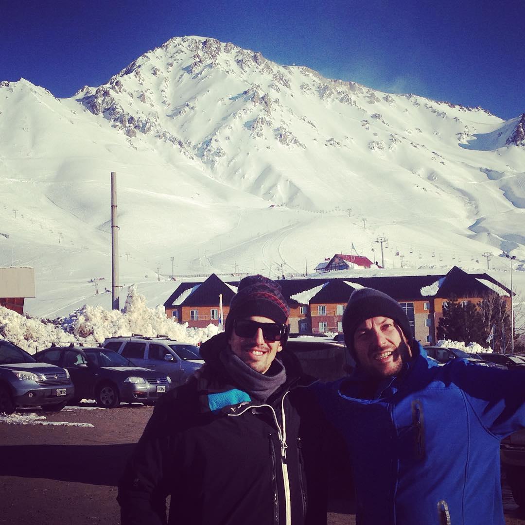 Llegamos a Las Leñas! Con @jeanstudler y @martinbisi! @ripcurlargentina #LivetheSearch