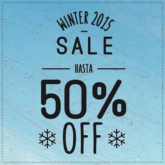 ❄ Winter SALE! - hasta 50% OFF ❄ Pasá por nuestros #ReefStores: #Unicenter #ReefMDP #AbastoShopping #AltoAvellaneda #PlazaOeste para aprovechar estos descuentos!