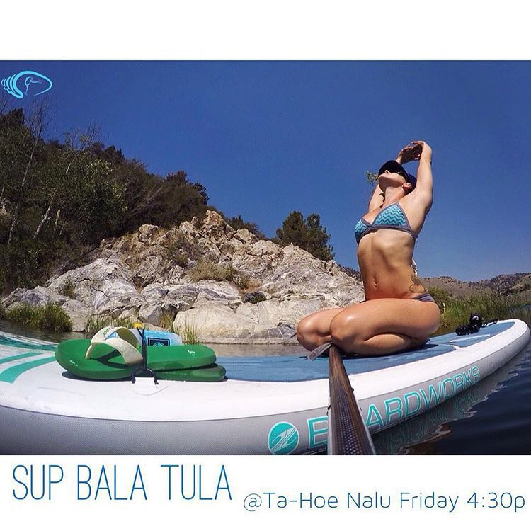 If you are in Lake Tahoe today please join us at 4:30 at Kings Beach for a SUP yoga class Bala Tula style with @waveofwellness! All levels welcome! @betheeffect will be hosting a fun paddle from 2-4 PM as well! Hope to see you on the beach!...