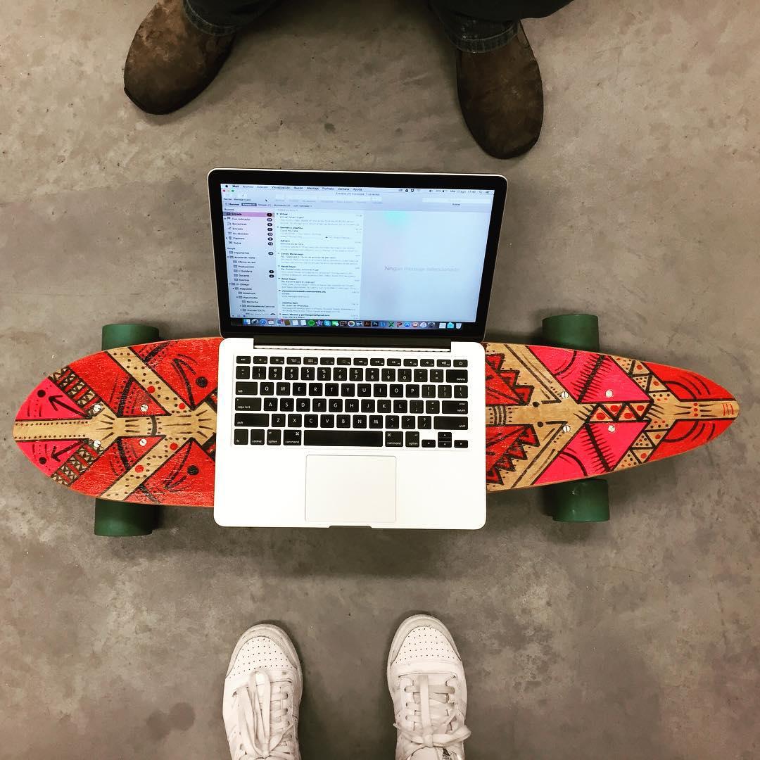 Nuevo escritorio! #yosoydibago