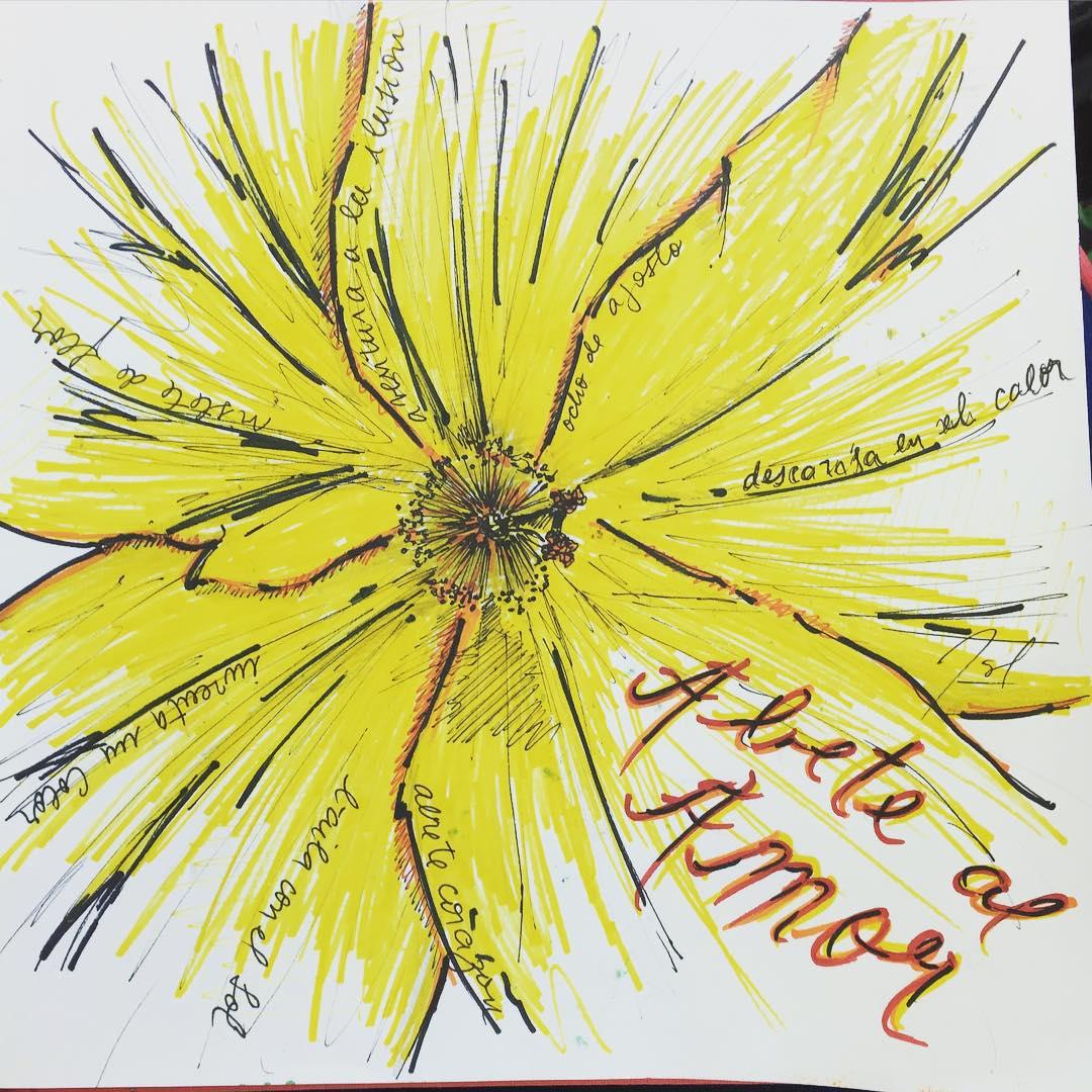 """Vistete de flor"" #aldesliz #california #oceanbeach"