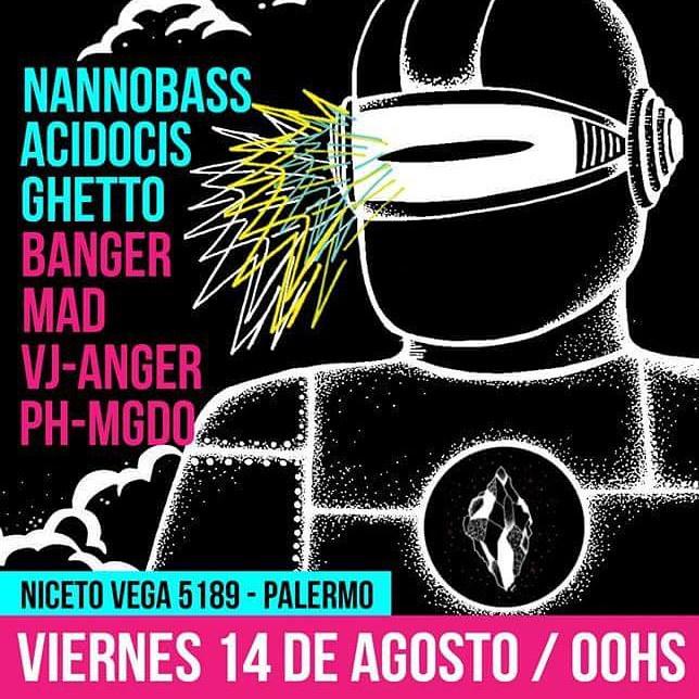 Esta noche a partir de las 00Hs en Niceto Vega 5189 hacemos D.A.R.E. una fiesta donde suena: hip hop-trap-twerk-moombah-dutch-electro-dubstep-drum n bass- jackin - y mas... La entrada es gratis hasta las 02.