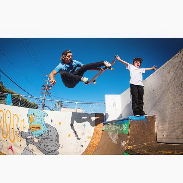 Good times @brooklynprojectsla with Grenade team riders @tomerikryen @hayden.tyler #doinwork