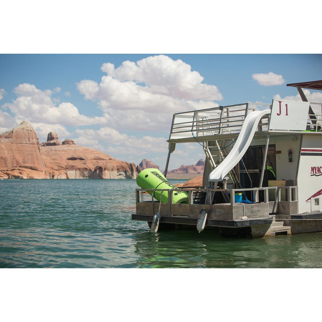 Get lost this weekend... #LakePowell #MagicCarpet (