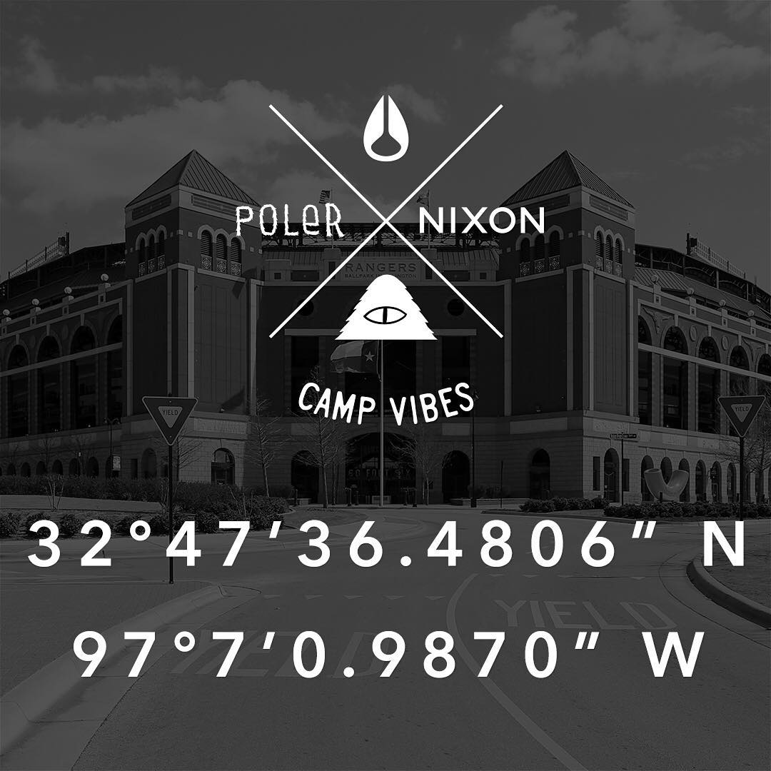 It's Friday and that means the #Nixon x @Polerstuff #NIXONHUNT is on! We've dropped the goods out in the world, you just have to go and find them. Good luck!  #NixonNow #campvibes