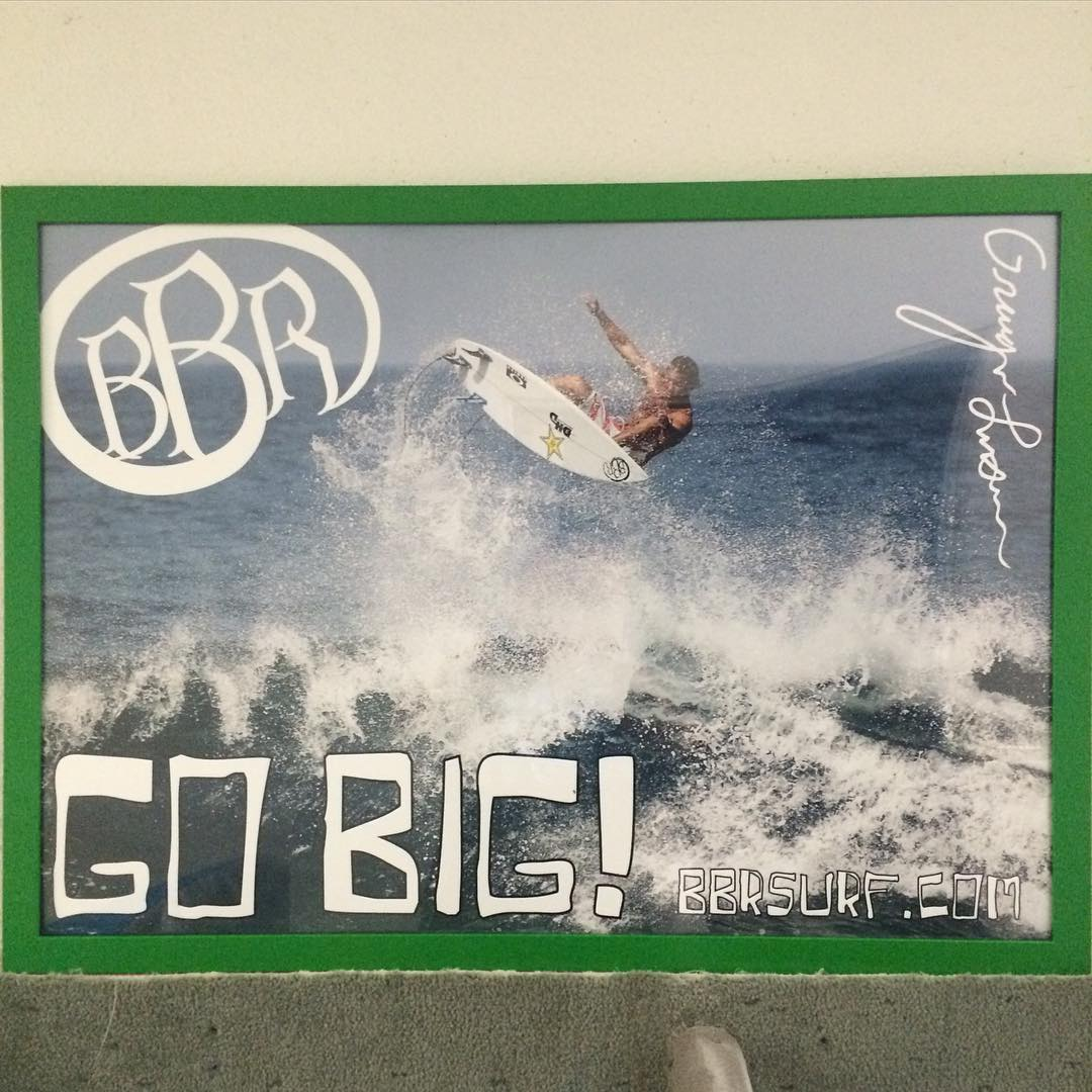 These framed pictures of Granger Larsen are headed to 20 Wahoos locations. Thank you Wahoos Fish Taco for the support #bbr #bbrsurf #bbrsurfwear #buccaneerboardriders #teamrider #grangerlarsen #wahoos #wahoosfishtaco #thankyou