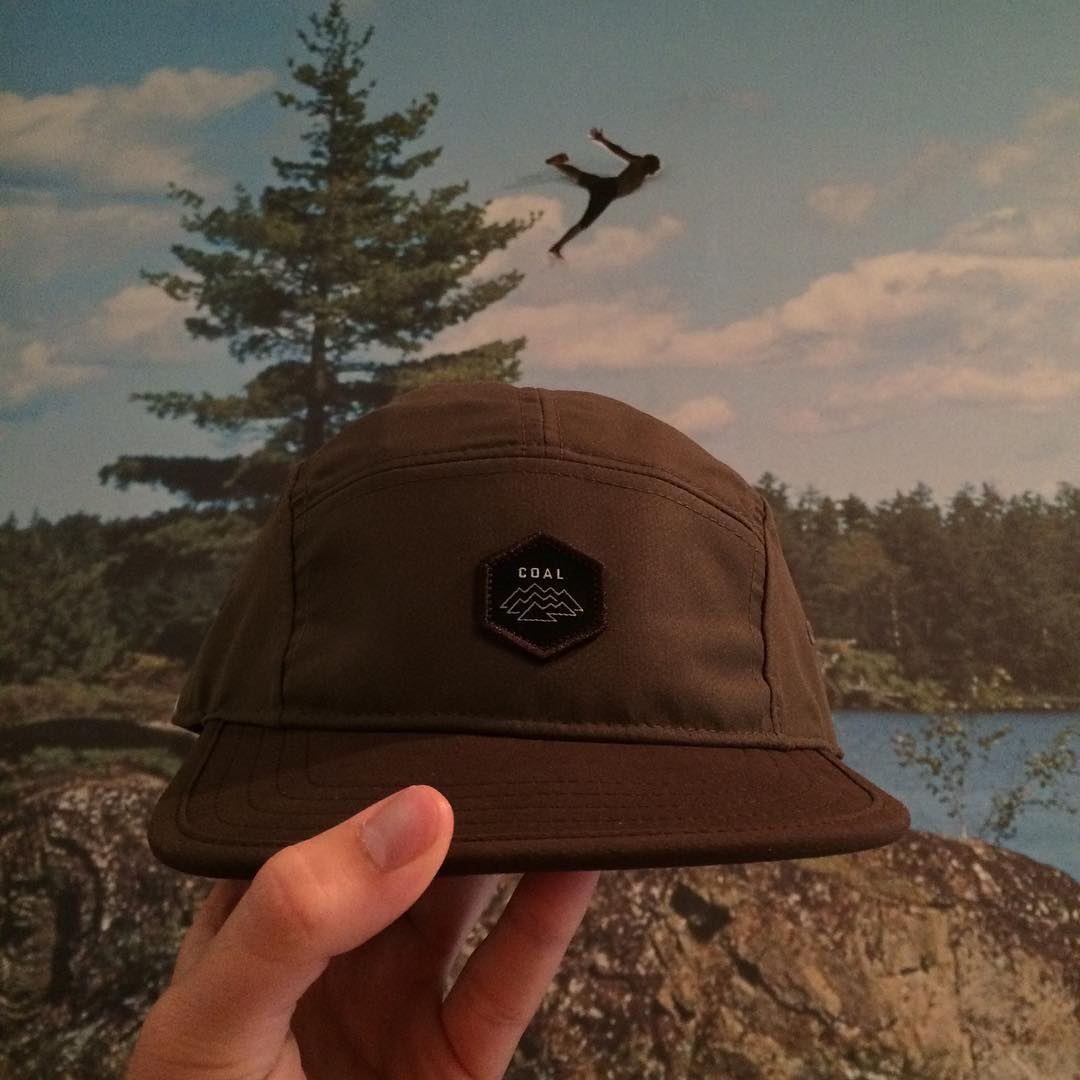 The mountains and lakes are calling so our #coalheadwear weekend hat pick is The Elwha. It has a soft brim, awesome patch and is in stock now!