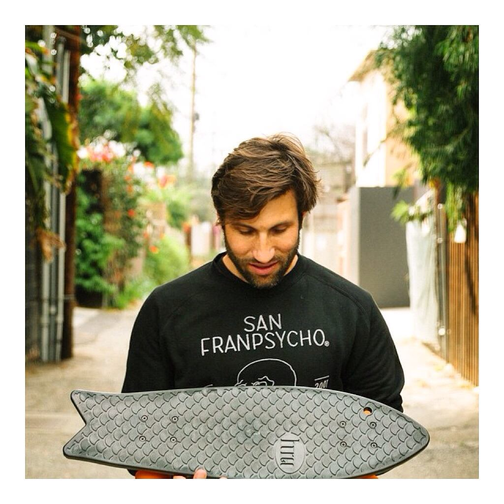 These skateboards made from recycled fishnets from our friends @bureo =