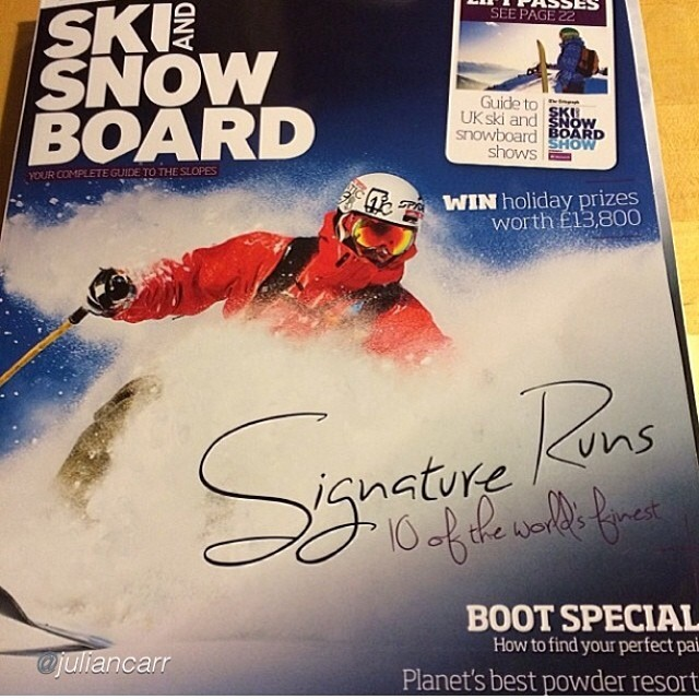 We owe a massive thanks to former Panda athlete Julian Carr for the three years he selflessly helped spread the word on our brand. He has landed more than one cover while wielding our #magicskiwands and we would not have nearly the credibility we have...