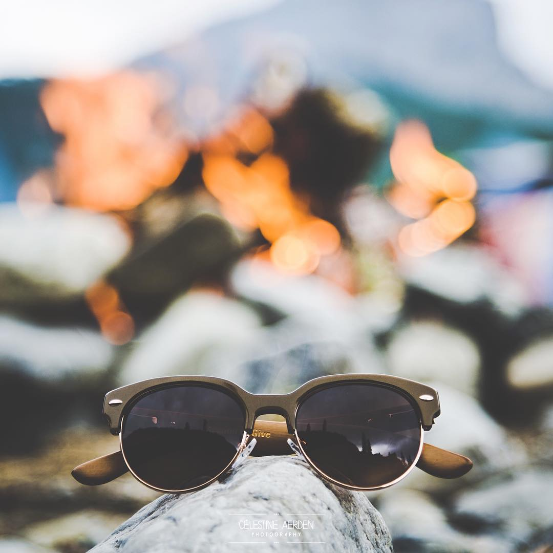 Spend your Saturday night by the campfire.  #SOLOeyewear  Photo by Creative Ambassador @celestineaerden