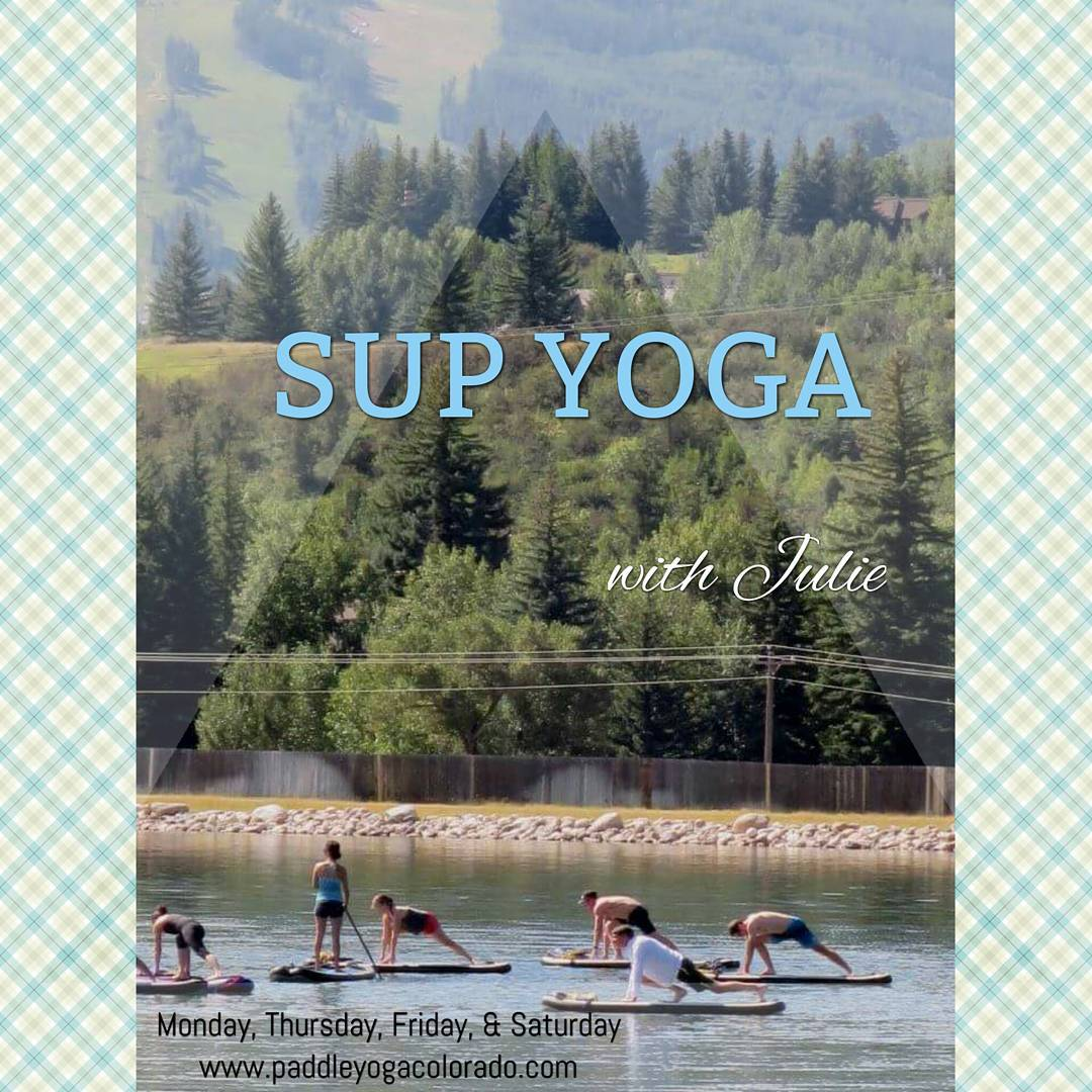 Join Hala Athlete Julie Circo with @paddle_yoga_colorado on the water at the Eagle-Vail pond Monday, Thursday, Friday, & Saturdays for some SUP yoga. Beginners welcome! Check out her website for more information.  www.paddleyogacolorado.com #supyoga...