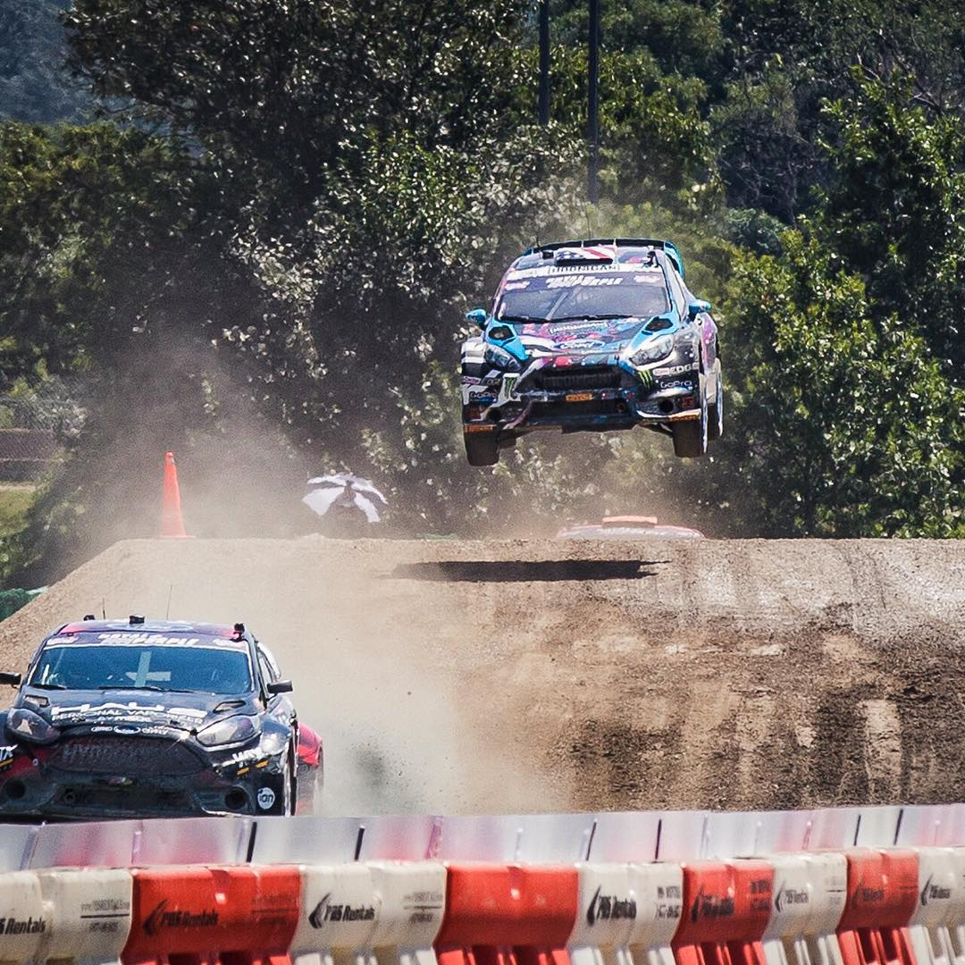 Just got second in my semifinal here at #GlobalRallycross DC, fighting back from a bad launch off the line. Pretty stoked on that result since we've had a tough weekend so far (almost took first in my heat today but got punted out towards a wall). This...