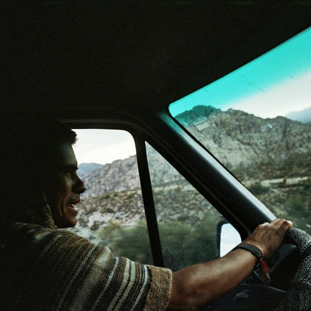 Back behind the wheel @cyrus_sutton