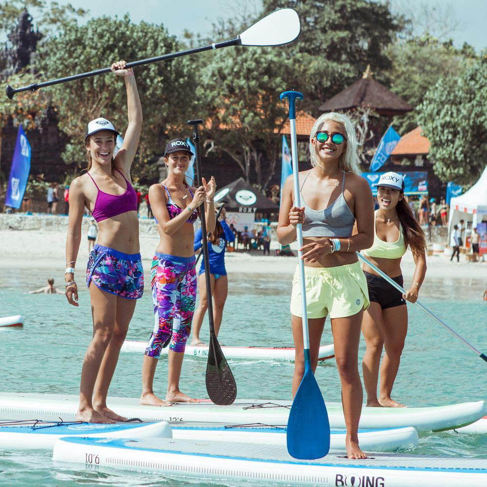 Terima kasih for the good times at #RUNSUPYOGA Bali!  Head to the ROXY blog for the full recap.