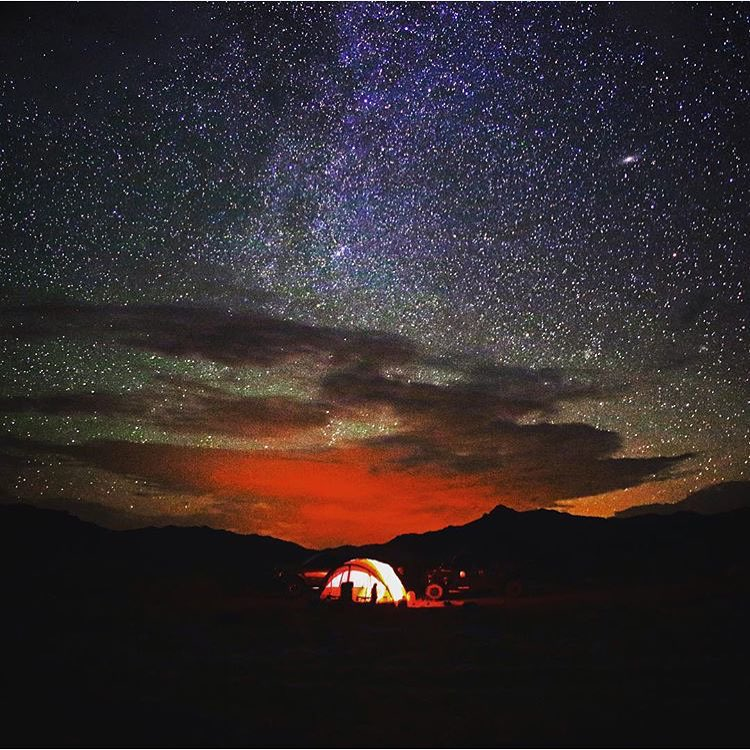 Even with some cloud cover and rain, the UT west desert is still magical. |#CampVibes by @hukesnow . #LiveOutside #Camping