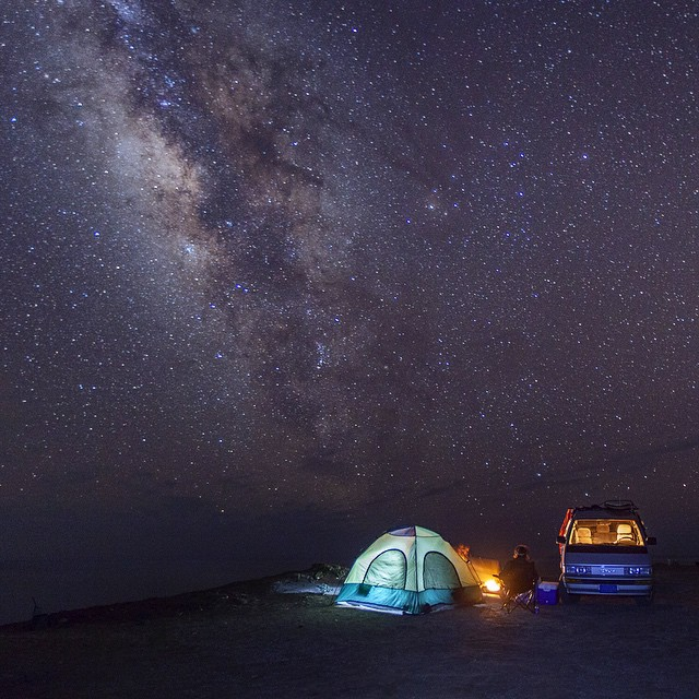 ~ Nomadic Baja ~  When it gets dark it's wondrous what we miss out on in the city. It's a true light show and we had front row seats || @drewfoto -------------------------------------------------#bekindvibes #bekindtribe #consciousadventurer