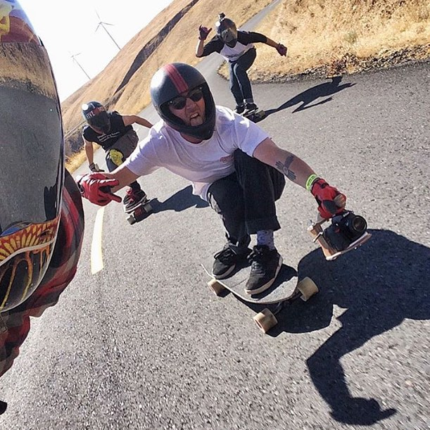 Sick runs at the Maryhill Freeride with the crew. Repost from @divinewheelco. #timeshipracing #maryhillfreeride #maryhillratz #divinewheelco #skateriviera #paristrucks