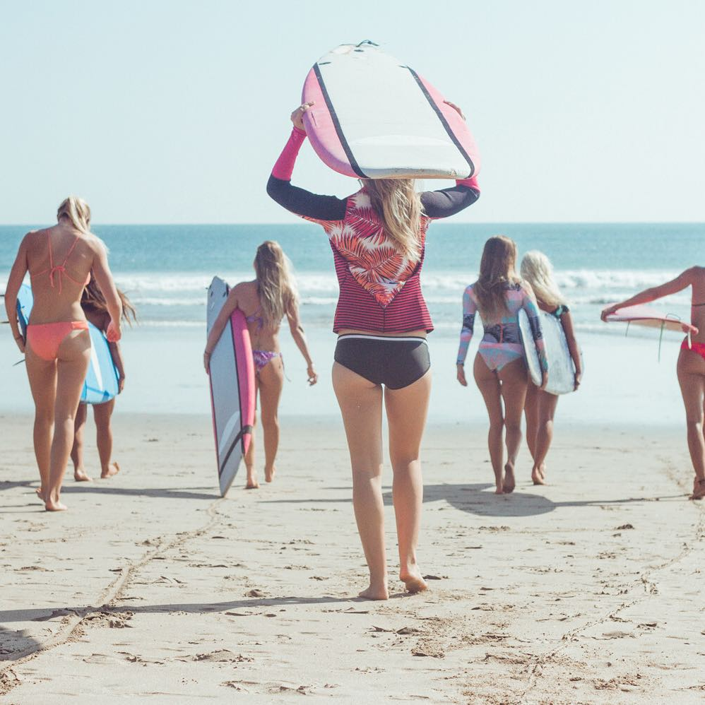 We love a Bali beach day with these babes. Where are you paddling out to this weekend?