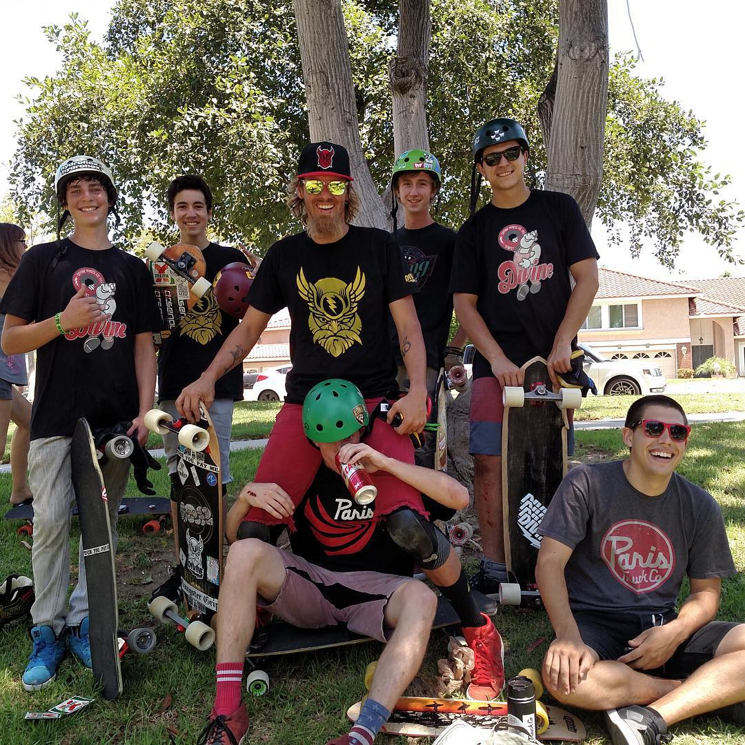 Skating with your crew is always a good time. Last weekend was the #GnarPath 4 event and all the homies came out. Tons of fun skating and big smiles for everyone. #divinewheelco #divinewheels