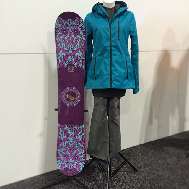 2015 Thrive Poise 148 plus our brand new 2015 Women's jacket and pants.
