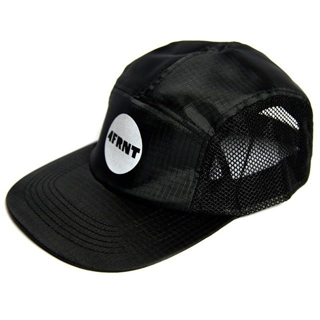 Just in, our field tested and approved Night Bike 5 panel. Ripstop with mesh side / inside front panels and 3M reflective front print and back strap. Function meets fashion. Get em while they last at 4frnt.com