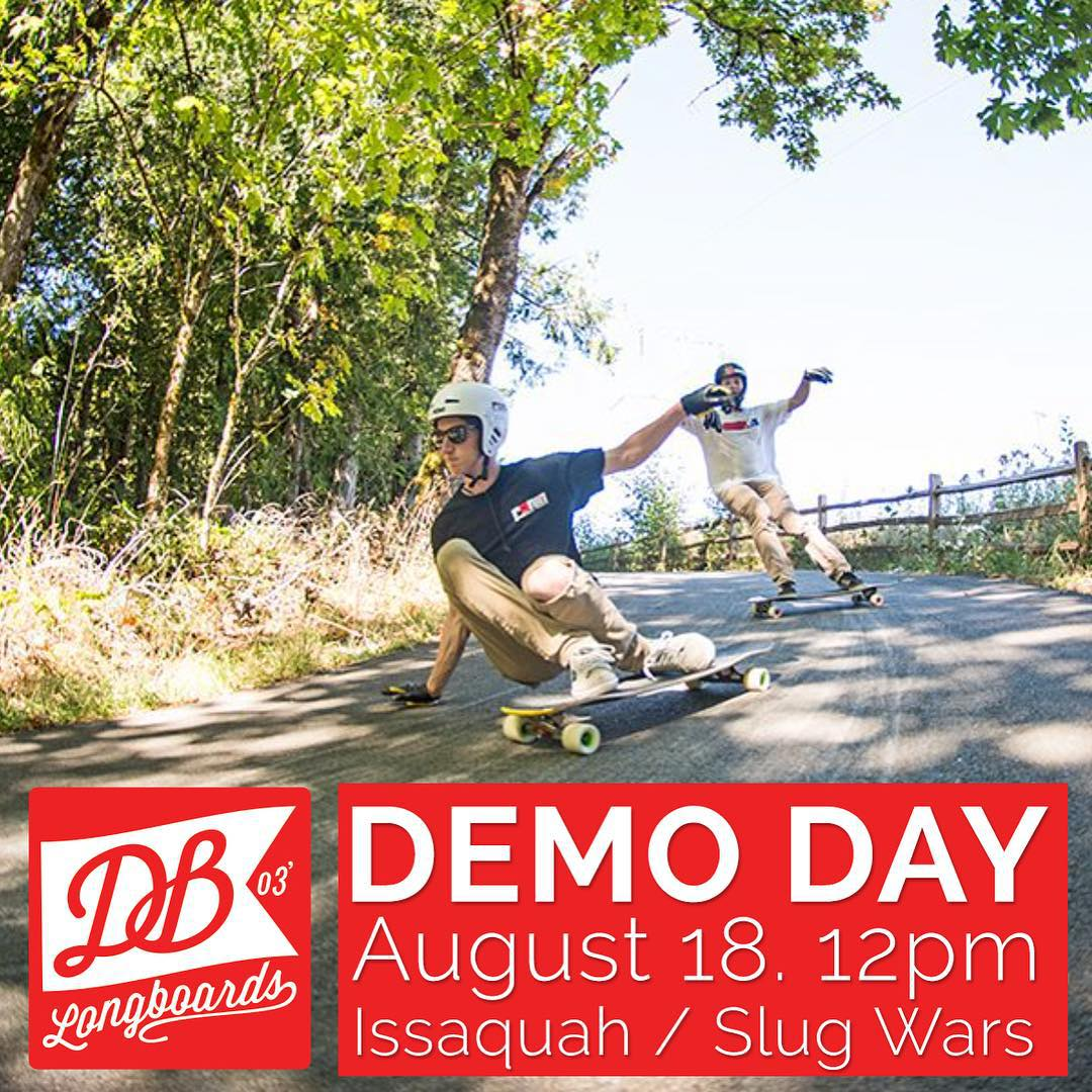 Wanna try out the new DB Longboards Keystone? The classic Lunctray or the Freeride DTX? Maybe even the Dyad V2? All setup with Atlas Truck Co.s and Cloud Ride Wheels...well, you are in luck.  We are going putting on a demo on Thursday (August 20th,...