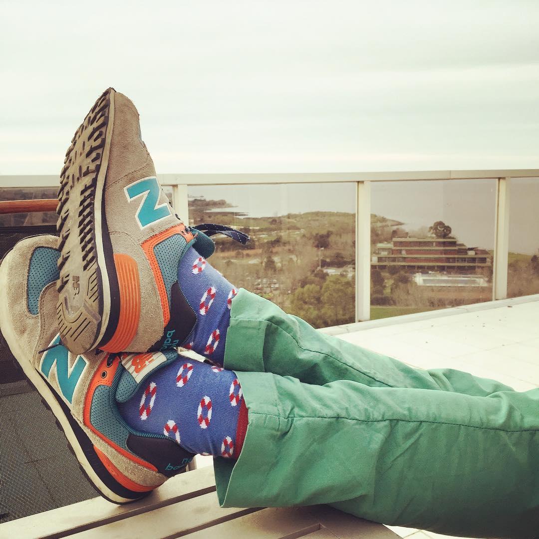 Qué lindo ver que todavía este fin de semana tiene un día más. #Domingo #LunesFeriado #LoveYourSuarez #Socks #Fashion #BuenosAires