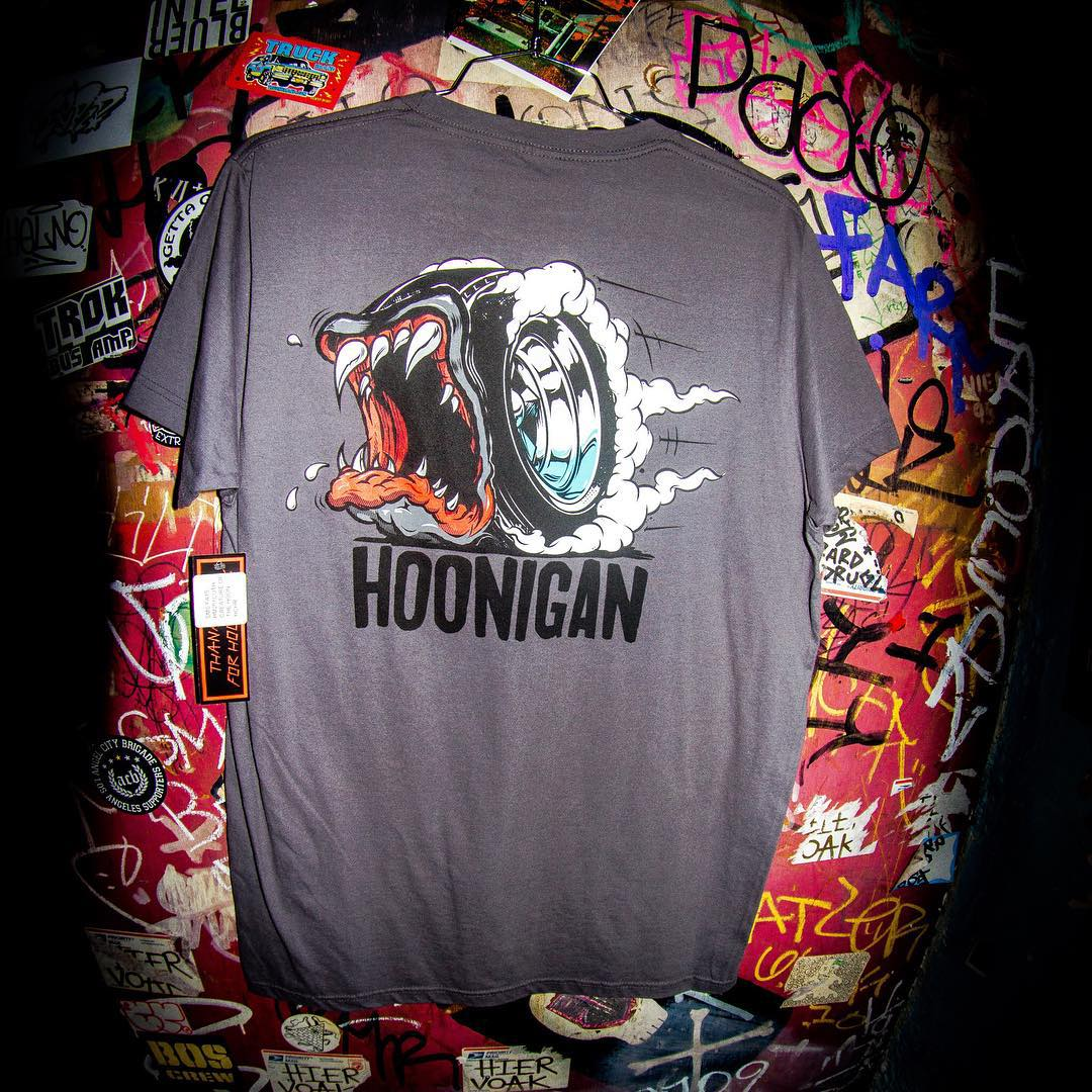 Our art director @jchase7452 really killed it with this Creature of the Hoon Tee. Find it now on hoonigan.com (or click link in bio).