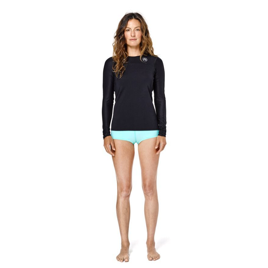 @surfkat in the women's Oceanides training top made from a new quick dry French pique with 60+ UV rating and Econyl amphibious Salacia compression short. Alpha Project No. 1: The Elite Basics is premium and amphibious performance apparel for Men and...