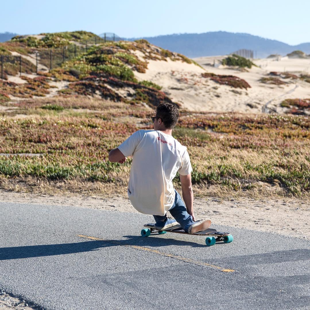California coastline cruising on the Pioneer. #socal #california #dblongboards #roadtrip #californiaadventure #californiacoast #californiasun #santabarbara #santagnarbara #californialongboard #caliskate #longboard #longboarding #longboarder