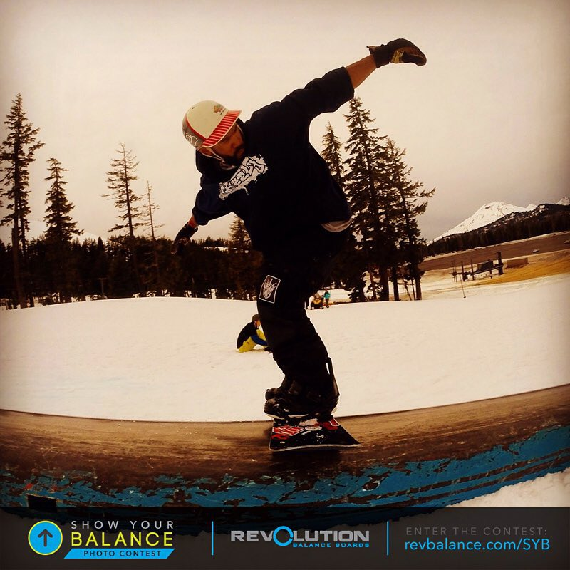 Shout out to John for the awesome #showyourbalance photo submission! We're seeing some awesome shots!