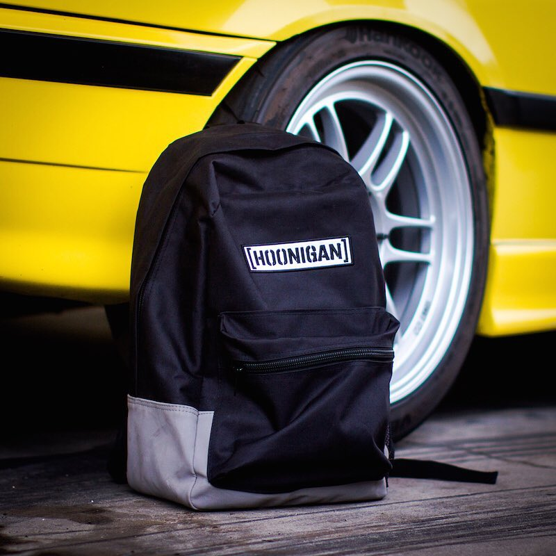 Our Standard Issue Backpack is now available to EVERYONE on #HooniganDOTcom! If you're apart of the #HNGNLoyaltySquad then you probably already have one, if not then you're in luck(sign up, noob)! Go get one before they're gone. #supporthooniganism