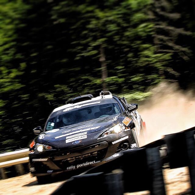 Our dude @cduplessis70 slaying gravel in his #BRZ at the New England Forrest Rally! #SupportHooniganism #sittinsideways