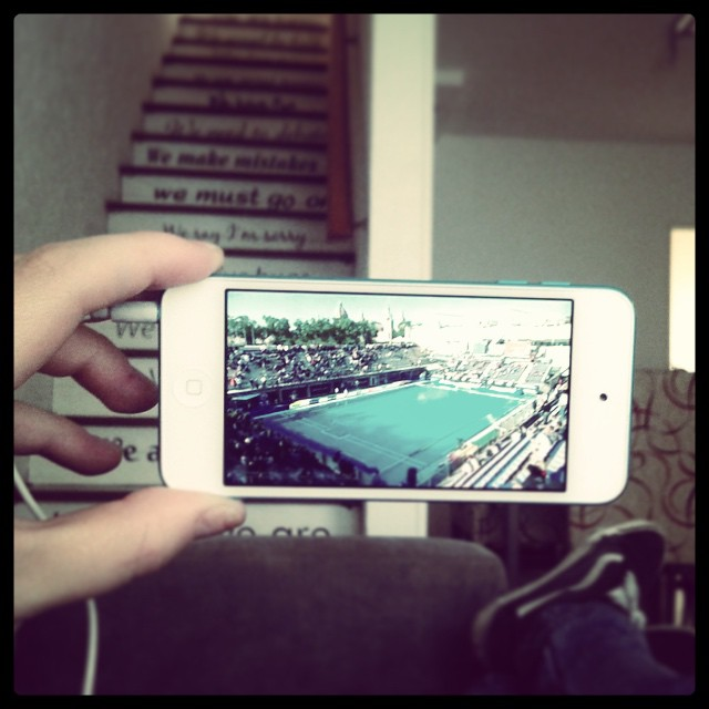 Esperando que empiece la #ChampionLeague #waterpolo #F6WP2015. @tanqueeche6 @angie_eche A por ellos la afición!!!!