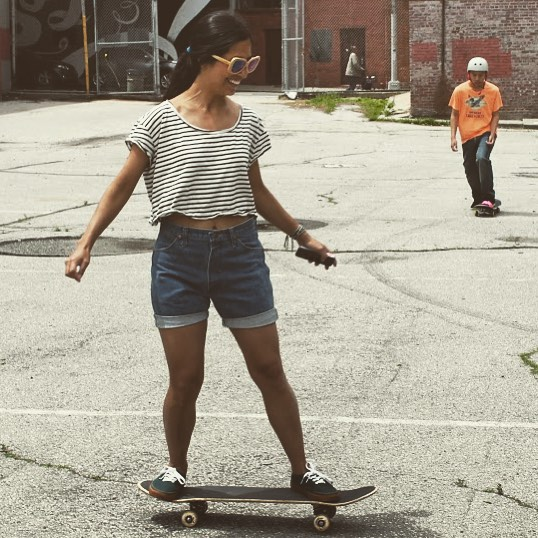 You're capable of more than you think. Get stoked! #skate #skater #sk8 #skateboard #skateboarding #shred #skatelife #streetskate #youth #community #fun #smiles #lifeskills #determination #skatergirl #skatetricks #nyc #citylife #mentor #volunteer...