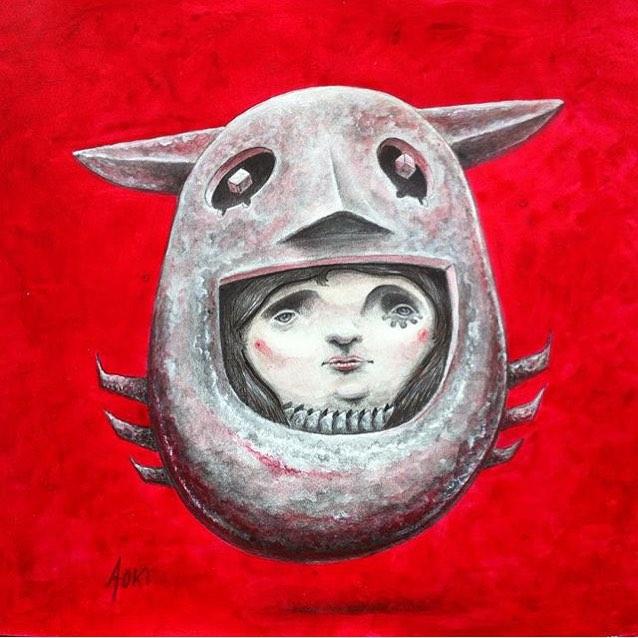 @lucasaokiart • • #atx #austintx #texas #tx #spratx #lucasaoki #art #paint