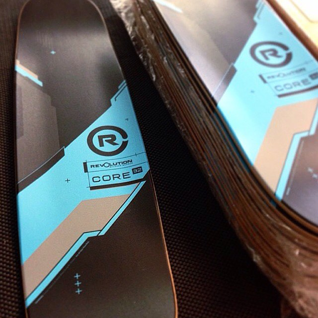 Time to assemble some of those fresh and tasty Core 32's! #madeintheusa #balanceboard #skate #getricky #snowboard