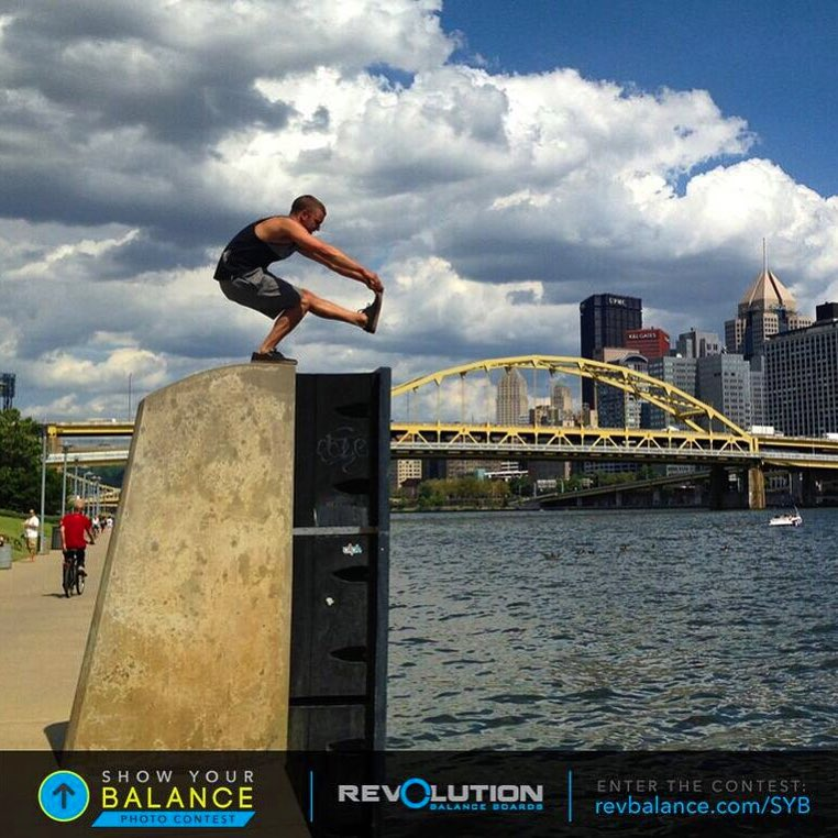 Sharing this great photo we received from Austin. We're loving all the contest entries so far! You can see more at revbalance.com