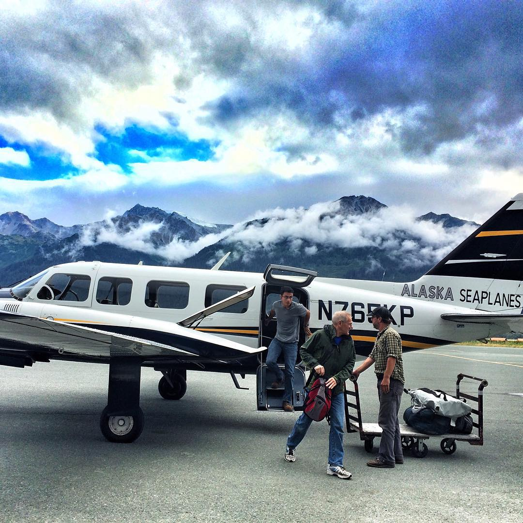 Small crafts and Big Mountains. Welcome to Alaska!