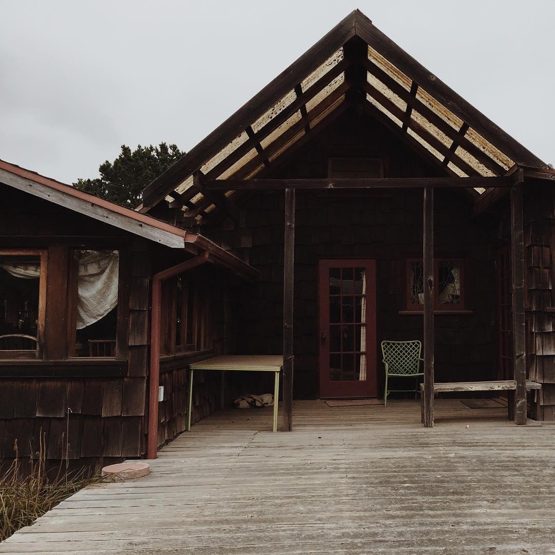 Lloyd Kahn's humble hand built abode