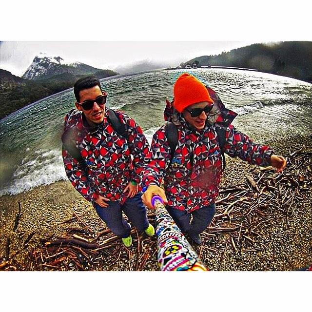 Les compartimos una espectacular foto de @fernandeznacho_ con su @alt.3d modelo #Kukulcan , en Bariloche ❄️