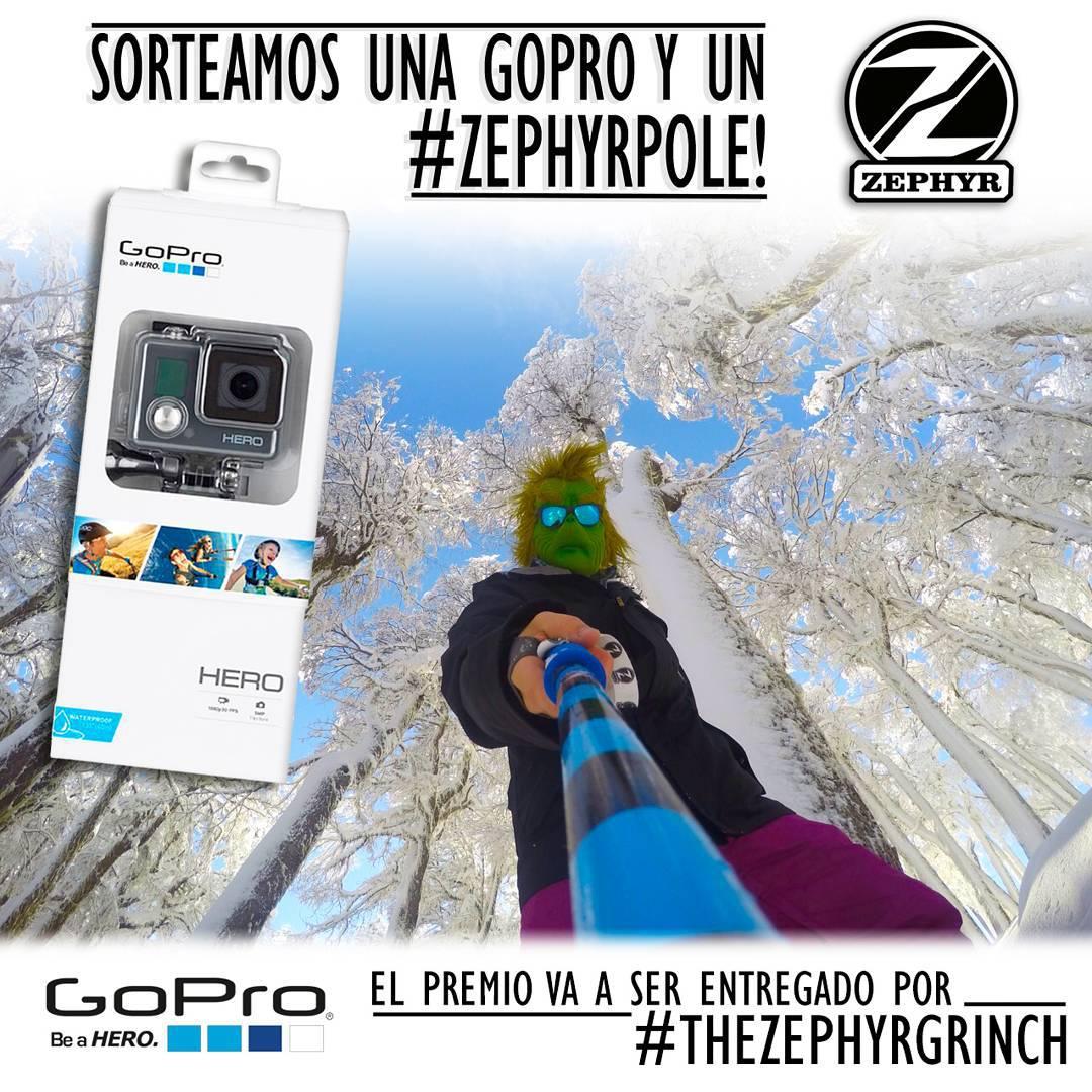 A T E N T O S !!!!#giveawayJunto con nuestros amigos de@go.arg estamos sorteando una GoPro HERO!!! y un#zephyrpole!! - - - Para participar: 1) Dale like a esta foto 2) Taggea a 3-5 amigos en este post 3) Segui la...