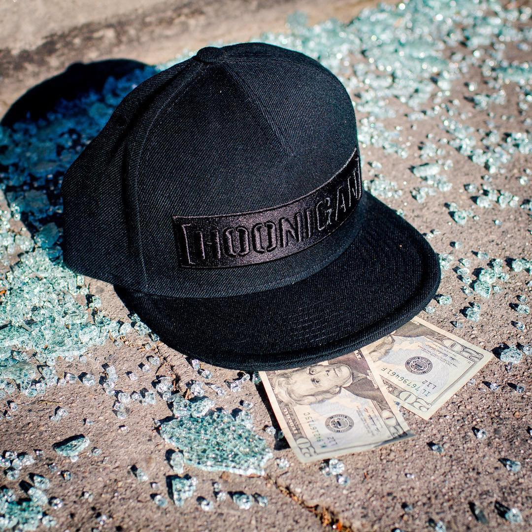 HAPPY HOUR SPECIAL: Spend $40 on hoonigan.com from now through 8PM (PST) and get this hat free. You must be registered and logged in. You will see the hat show up in your cart. Cheers!