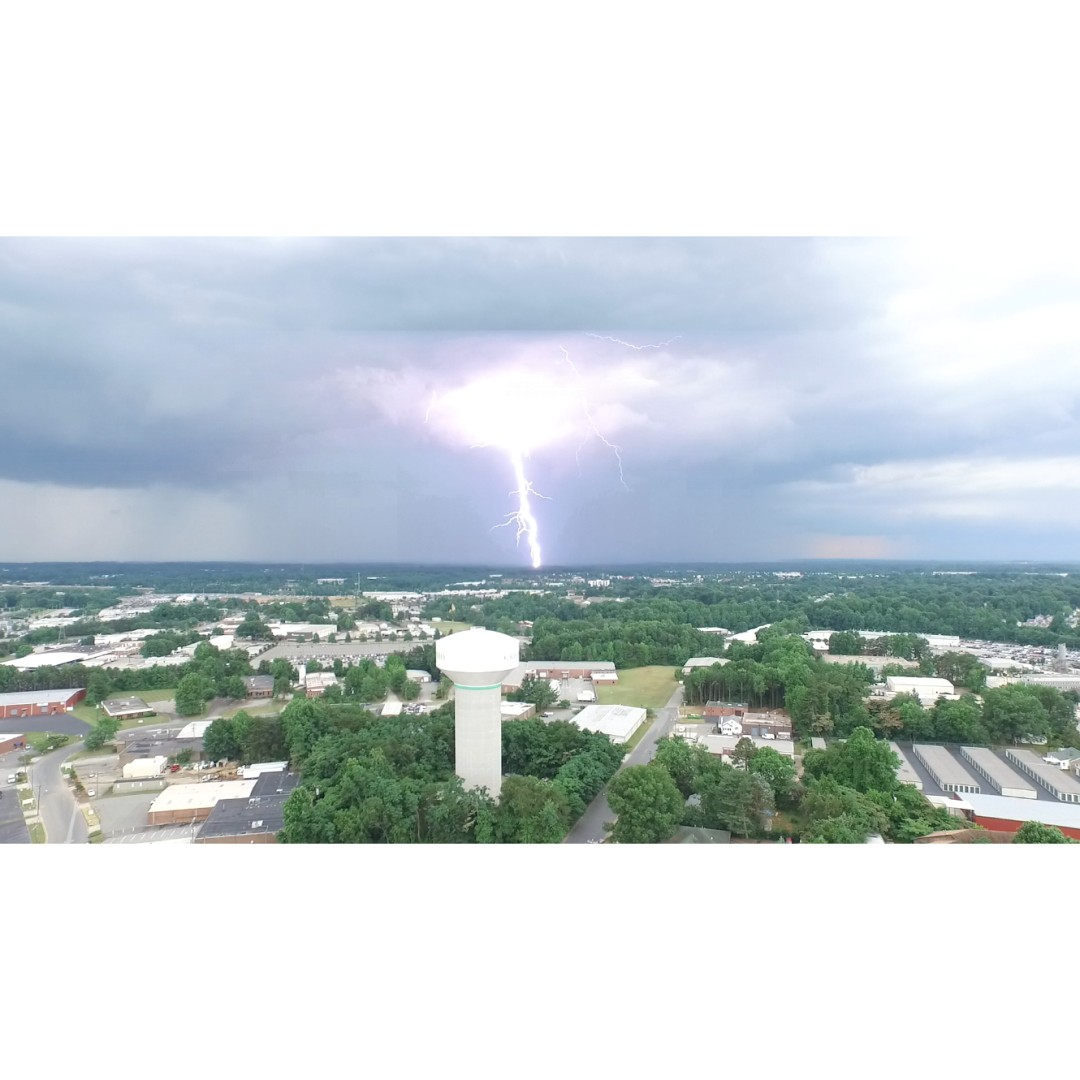 Thor must be headed to us again.  Captured by Brian Casey with a #DJI #Phantom3 Advanced.  #PhantomWednesday #IamDJI