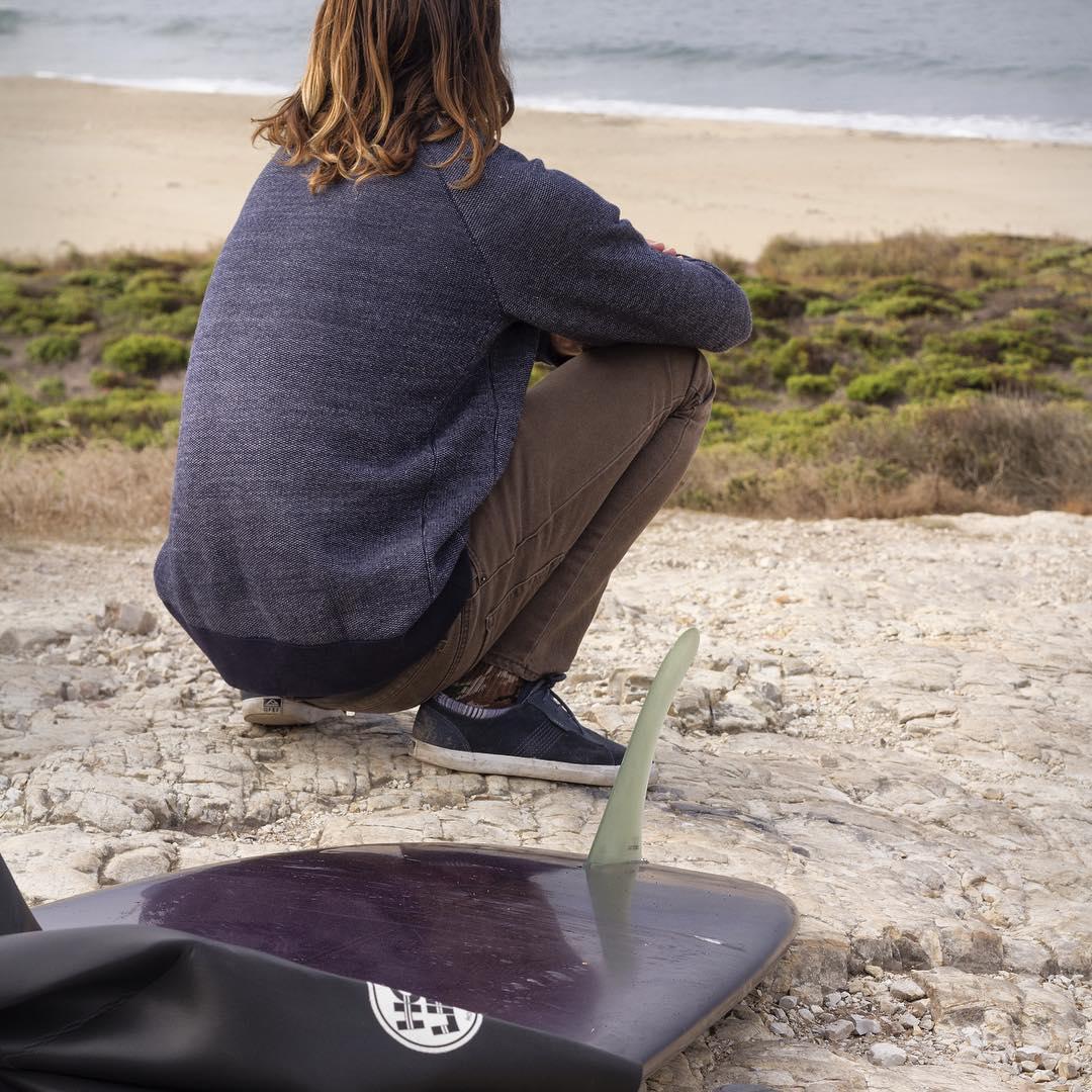 Early surf checks with @gooch_d Yup, still flat.