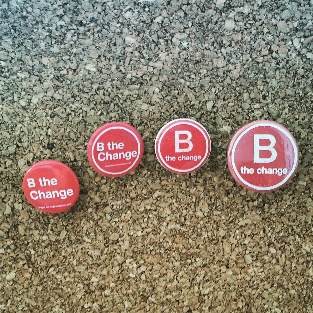 "Putting the ""change"" in #BtheChange...our button designs over the years"