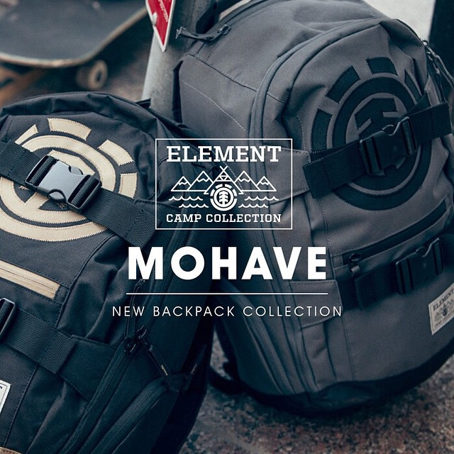Our most classic bag, The Mohave, redesigned as a part of our #ElementCampCollection. Made to be the ideal backpack, the Mohave comes packed with features that make it the perfect everyday carry-all >>> click the link in our bio