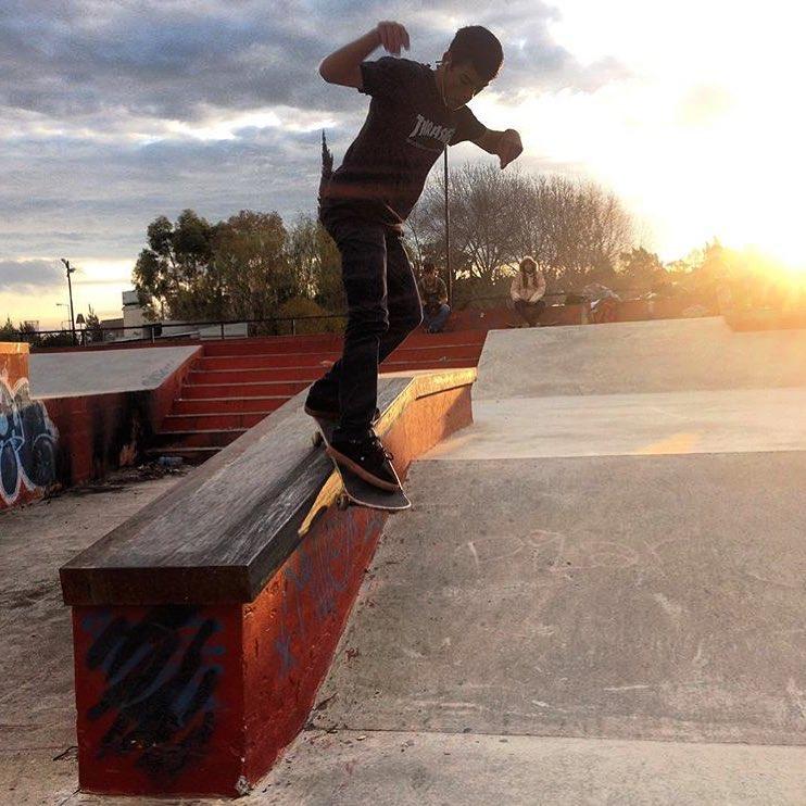 BS Smith @santirezza #skateParkBerisso #TrueToThis