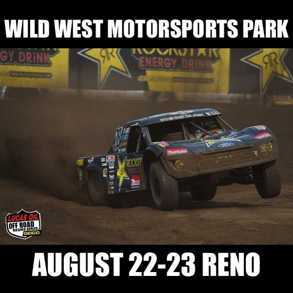 Don't miss @lucasoiloffroad races this weekend in Sparks Nevada! Presented by @rockstarenergy